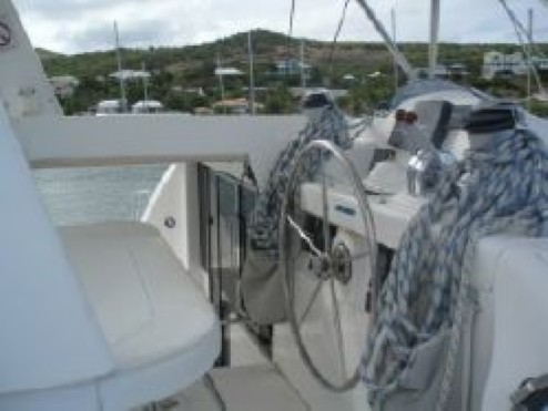 Used Sail Catamaran for Sale 2007 Leopard 46  Electronics & Navigation